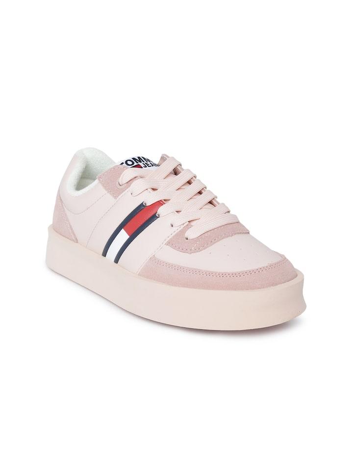 Buy Tommy Hilfiger Women Pink \u0026 Beige