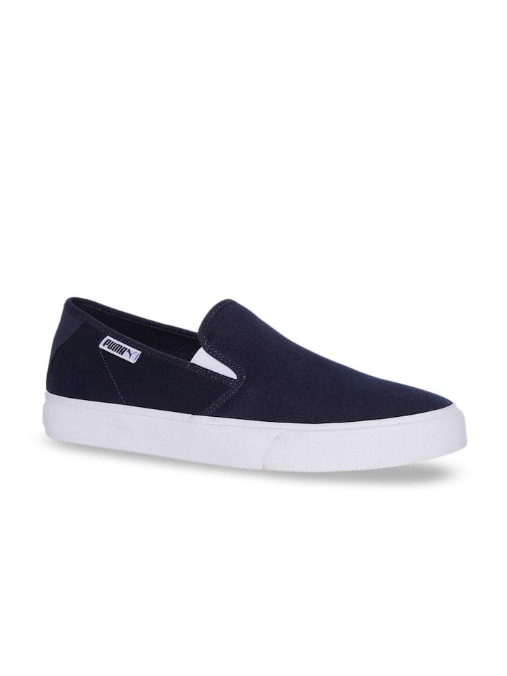 Buy Puma Men Navy Blue Bari Slip On