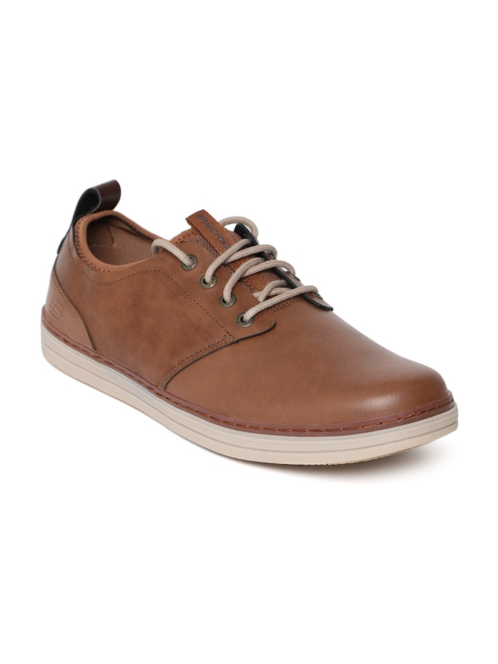 he equivocado templo Playa  Buy Skechers Men Brown Heston Rogic Semiformal Derbys - Casual Shoes for  Men 8886145   Myntra