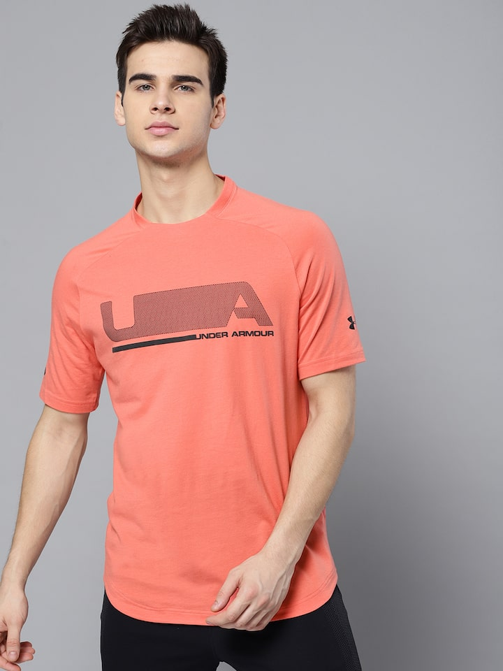 Under Armour Mens Unstoppable Move Tee Short-Sleeve Shirt