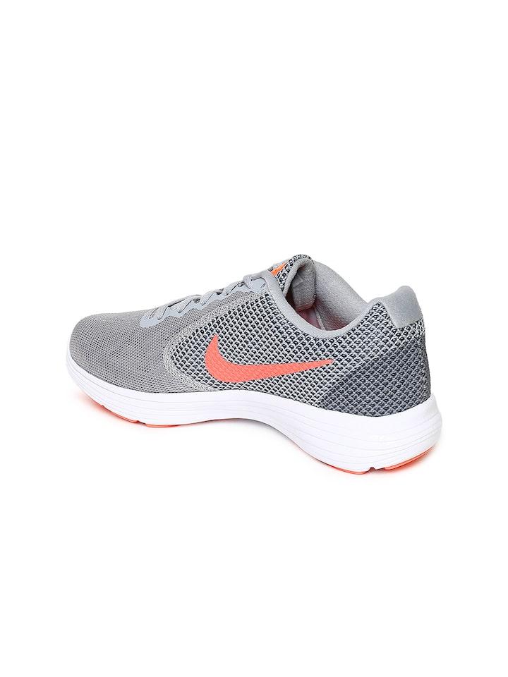 Buy Nike Women Grey REVOLUTION 3