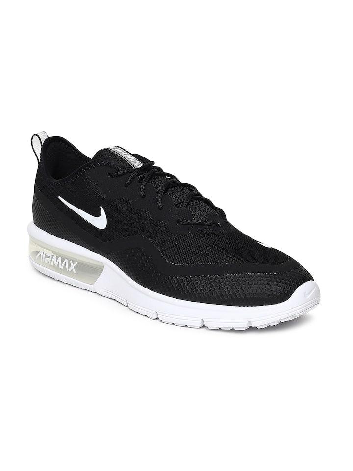 Buy Nike Men Black AIR MAX SEQUENT 4.5