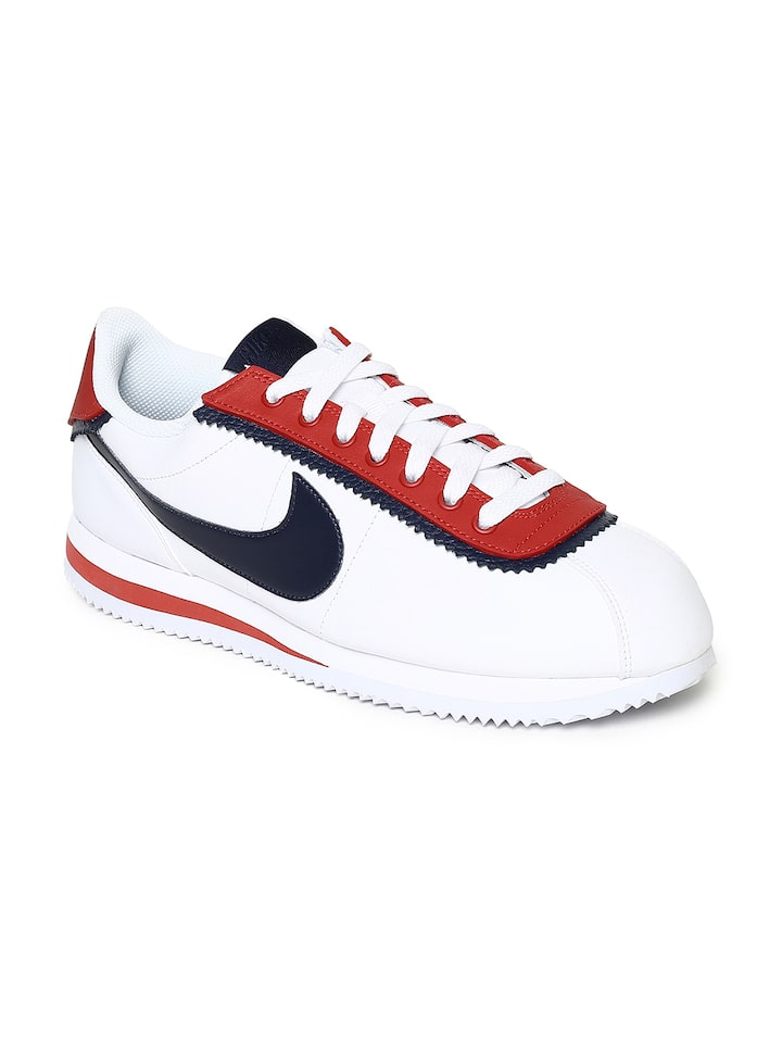 Buy Nike Men White CORTEZ BASIC SE