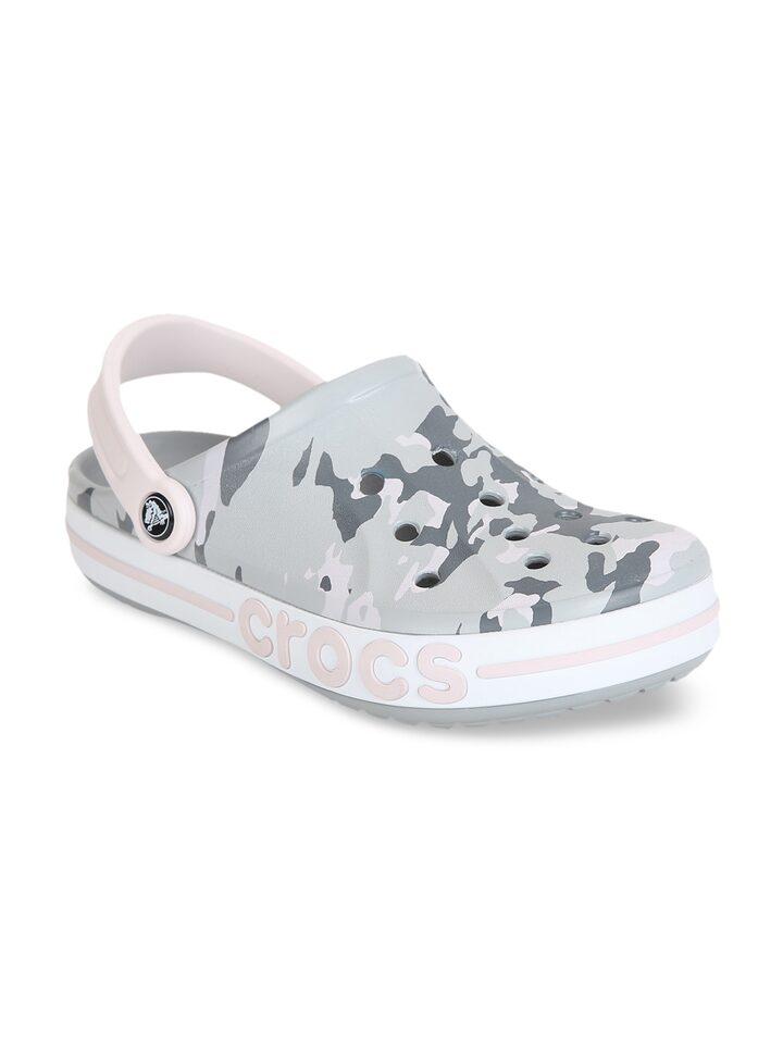 Crocs Women Grey Clogs - Casual Shoes