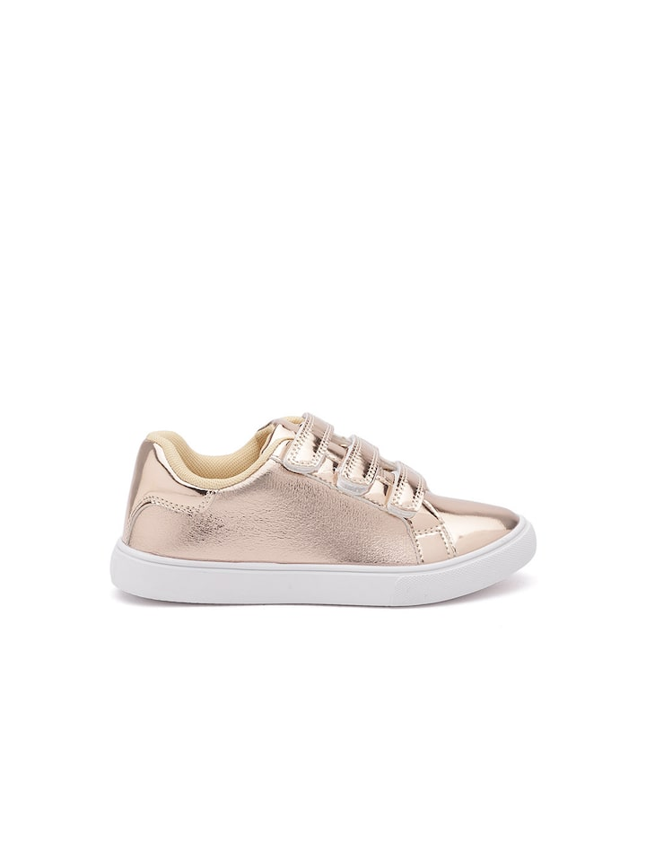 rose gold casual shoes