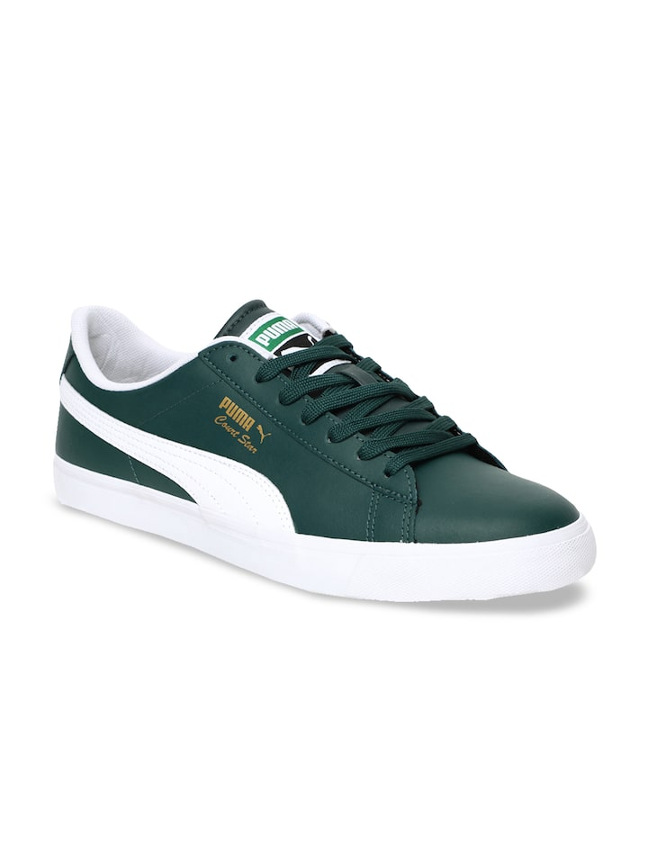 Buy Puma Unisex Green Court Star Vulc FS Sneakers - Casual ...