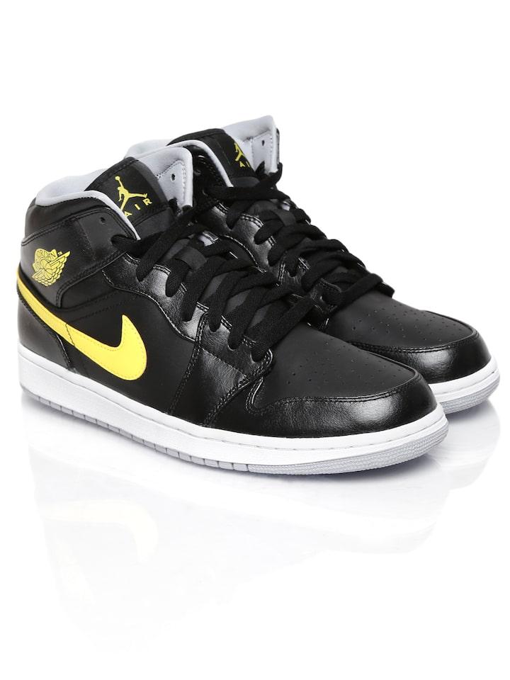 Buy Nike Black Air Jordan 1 Mid