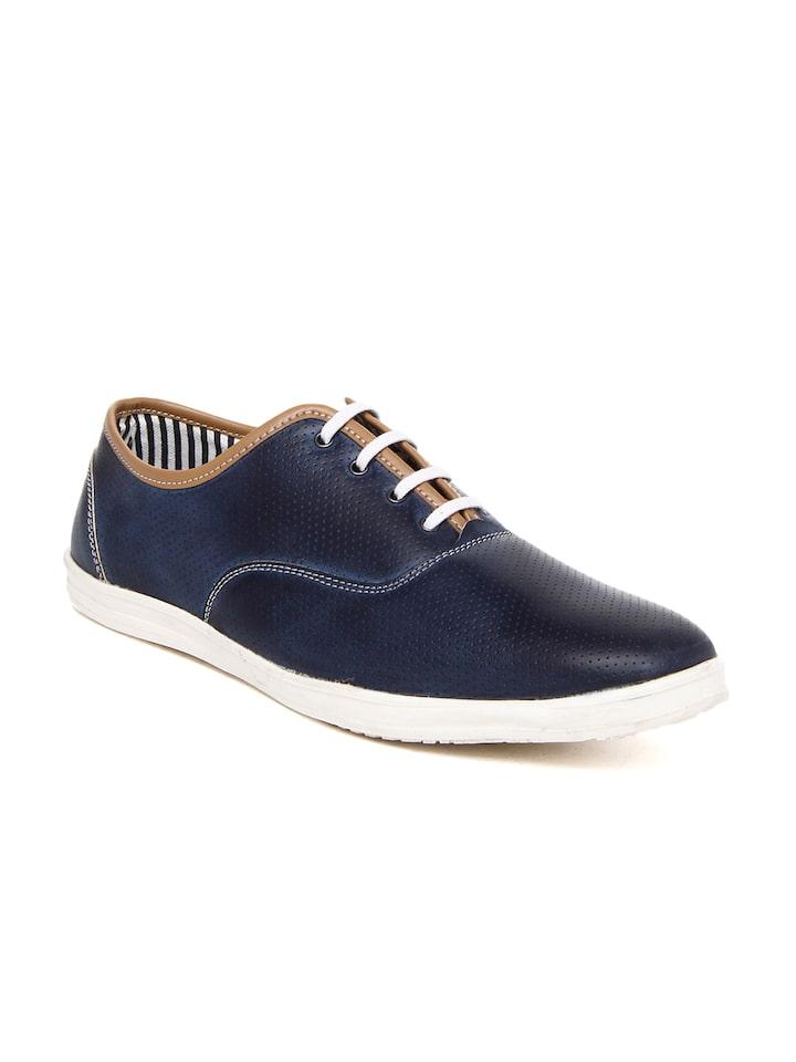 Buy American Swan Men Navy Casual Shoes