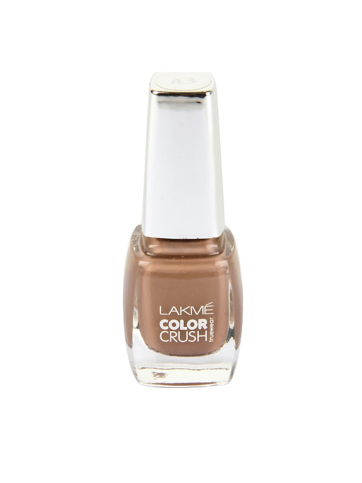 Buy Lakme True Wear Color Crush 41 Nail Polish Nail Polish For Women 153941 Myntra