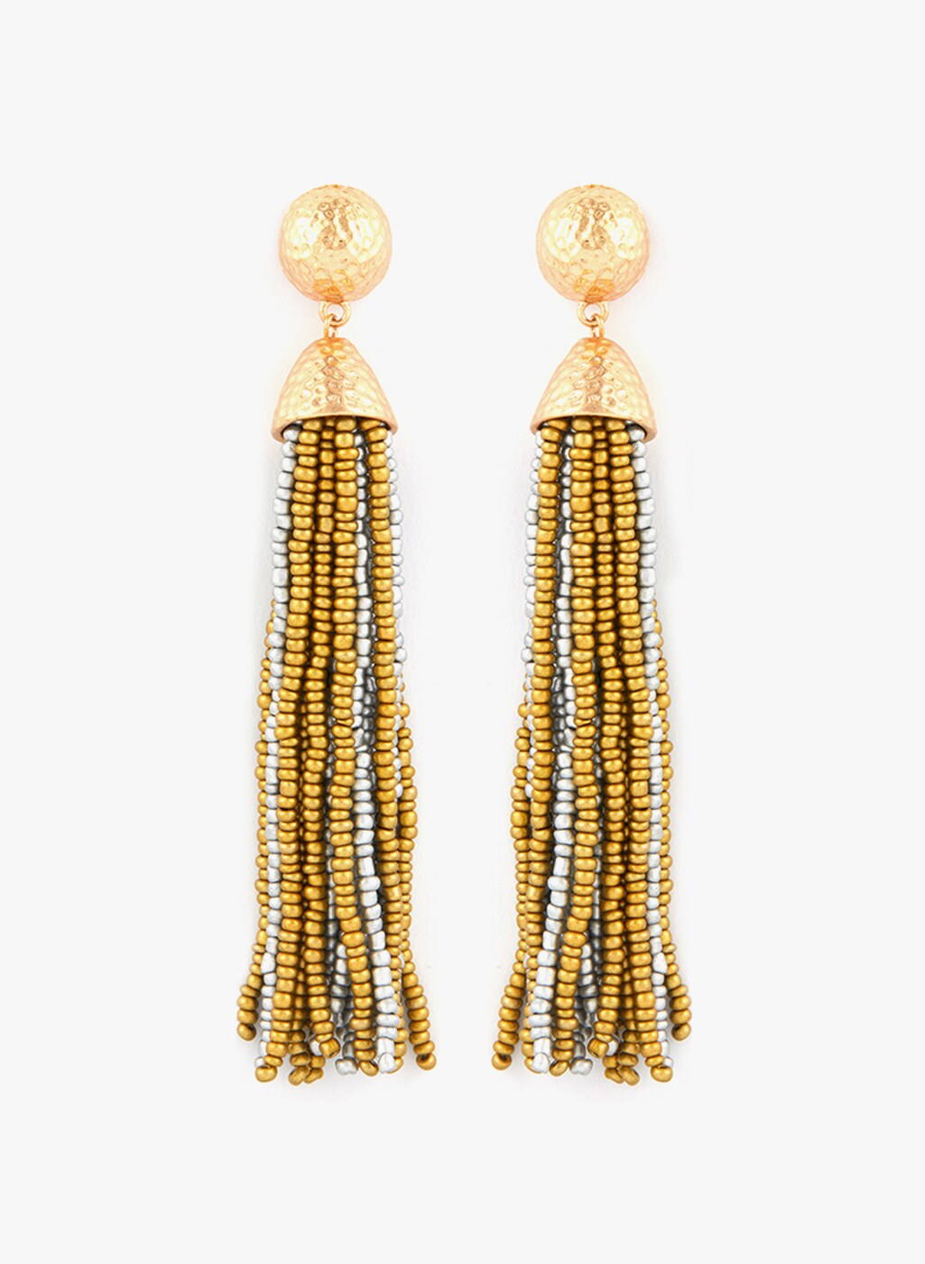 Tipsyfly Golden Metal Danglers And