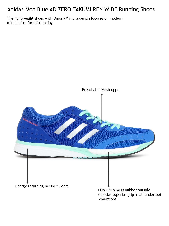 3b46d5489c39 11489663366222-Adidas-Men-Blue-ADIZERO-TAKUMI-REN-WIDE-Running-Shoes -1011489663366010-2.jpg