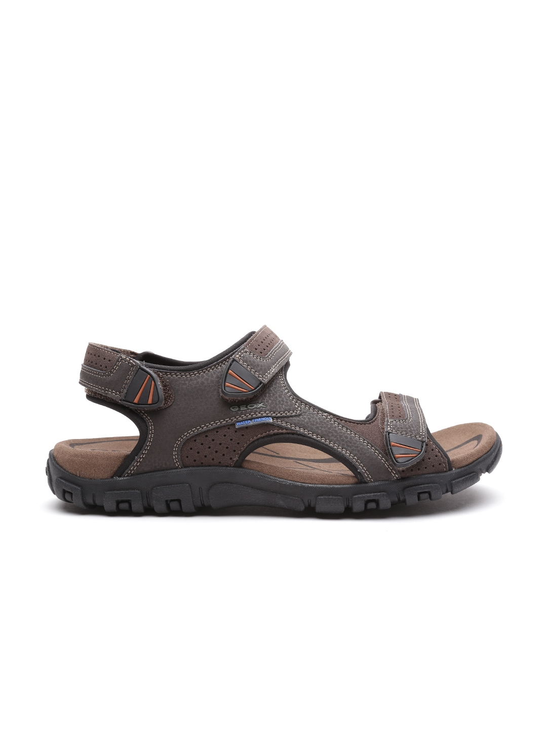 Buy Geox Italian 54l3arj Sandals Leather Patent Men Brown Respira dxWQCoreB