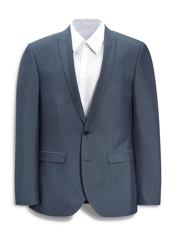 Formal Men Next Blazers Slim Fit Buy Single Breasted Blue Blazer 50dwAcq6