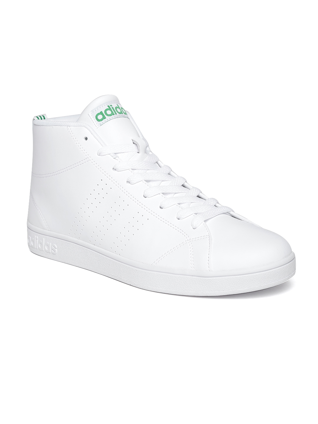 Clean Sneakers Men Advantage Adidas Neo White Buy Top Solid Mid gvxqfCyXw
