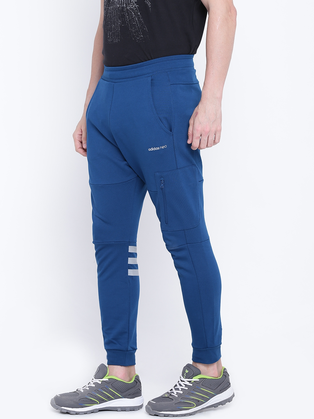 Buy Men Blue Adidas For Neo Pants Track Joggers Teal Cs r64nrT