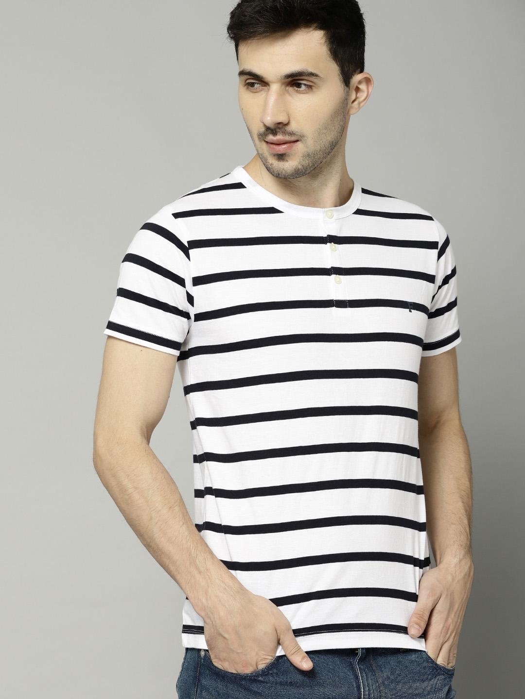 d4129c38fad 11525435335492-French-Connection-Men-White--Black-Striped-Henley-Neck-T- shirt-4801525435335270-1.jpg
