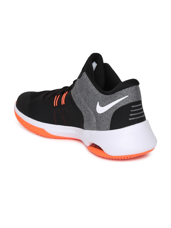 Nike Air Basketball Versitile Shoes Blackamp; Sports Men Buy Ii Grey zVSqpMU