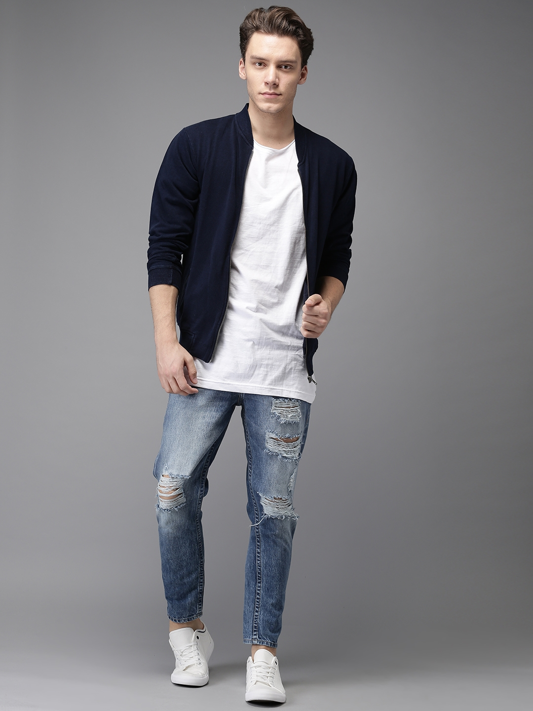 Kind To Raveitsafe What With Shirt Wear Distressed Jeans Of BoCedx