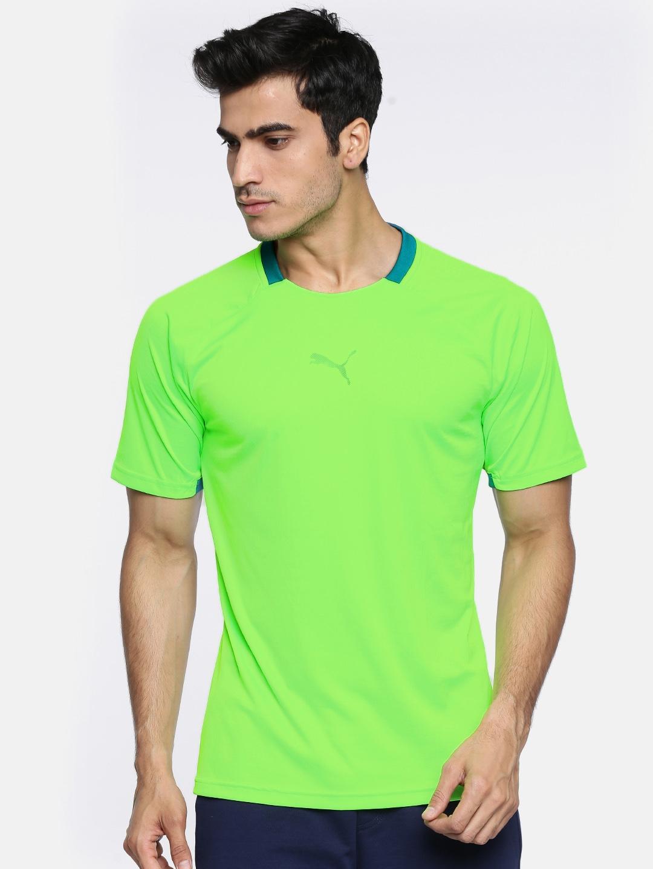 Shirt Fluorescent Puma Buy Pwrcool Football Neon T Green Nxt wwA18E