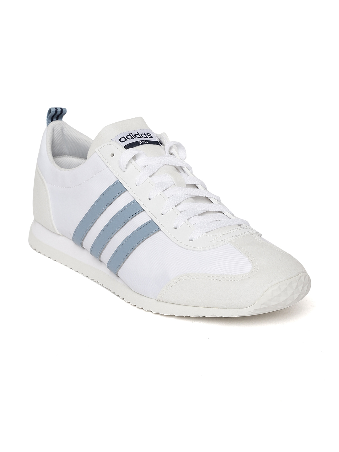 Men Wkoziputx Adidas Vs Running Shoes Jog White nPkwO0ZN8X