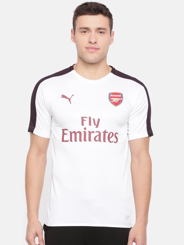 Buy White Epl Logo Cell Sswith Dry Sponsor Men Arsenal Printed Puma 0Nwm8Ovn
