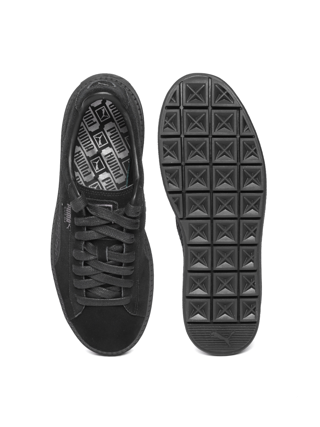 Suede Animal Flatform Sneakers Trace Women Black Casual Buy Puma oxBedC