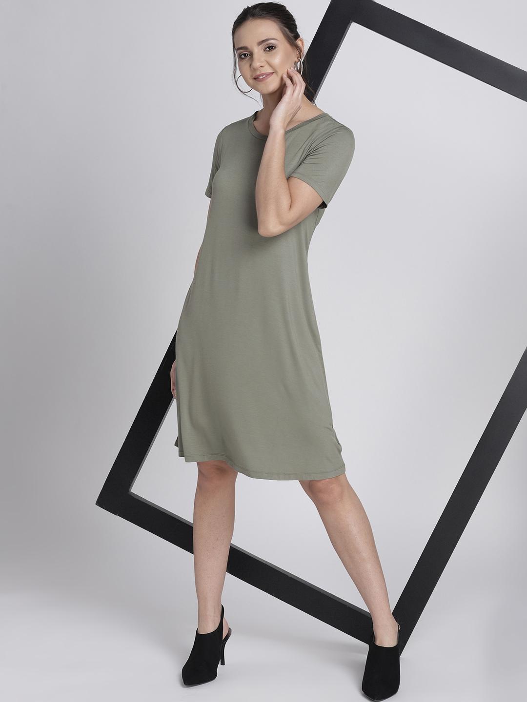 Rayon Women's For 8595677Myntra Dresses Swing Gap Buy Women Dress kOiPZTXu