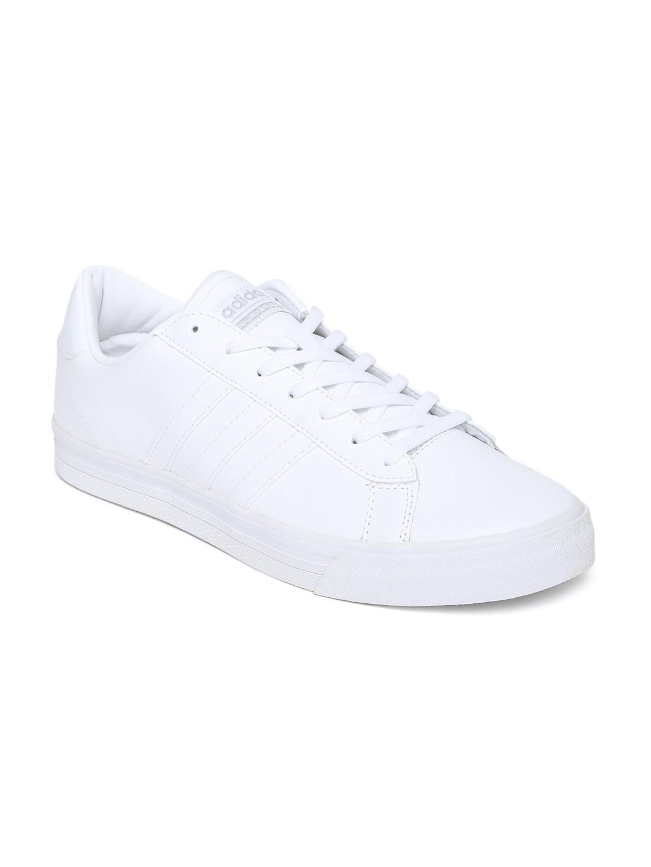 adidas neo cloudfoam mens white