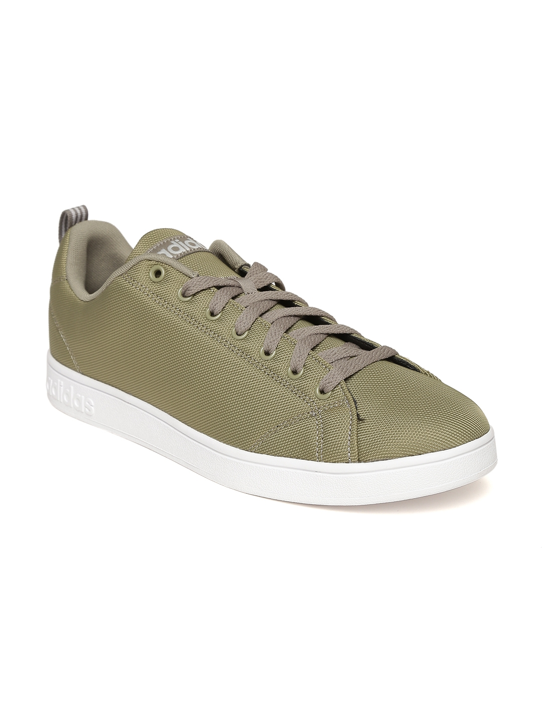 Adidas NEO Men Olive Green VS Advantage CL Sneakers