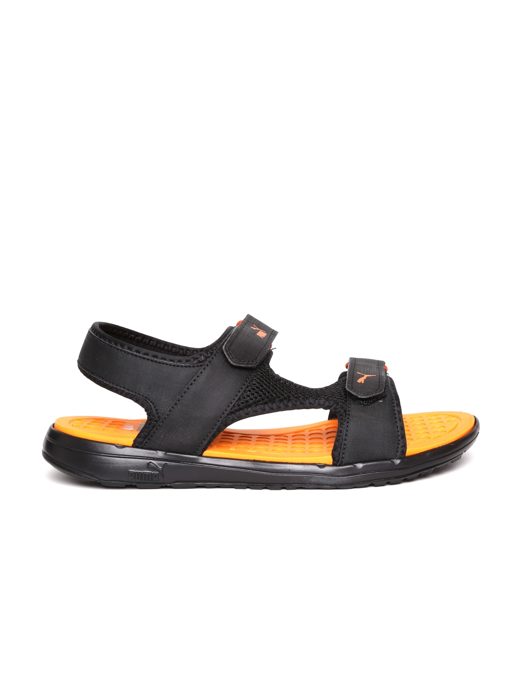 173b847e046 Buy PUMA Unisex Black Cydon DP Sports Sandals - Sports Sandals for ...
