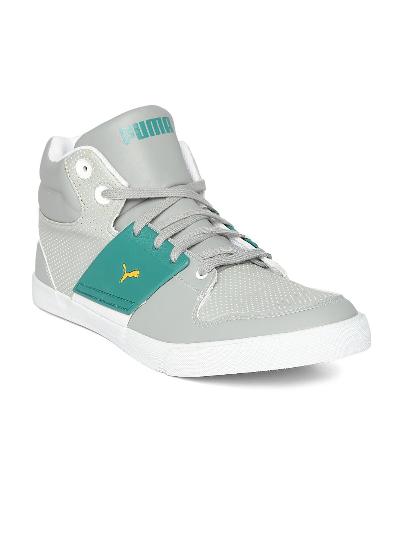 Buy PUMA Unisex Grey El Ace 2 PN II DP Sneakers - Casual Shoes for ... 6d1a1e101