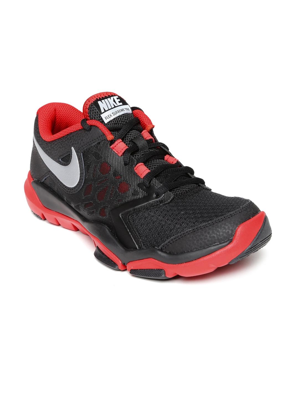 3fac61e765c68 Buy Nike Men Black Flex Supreme TR 4 Training Shoes - Sports Shoes ...