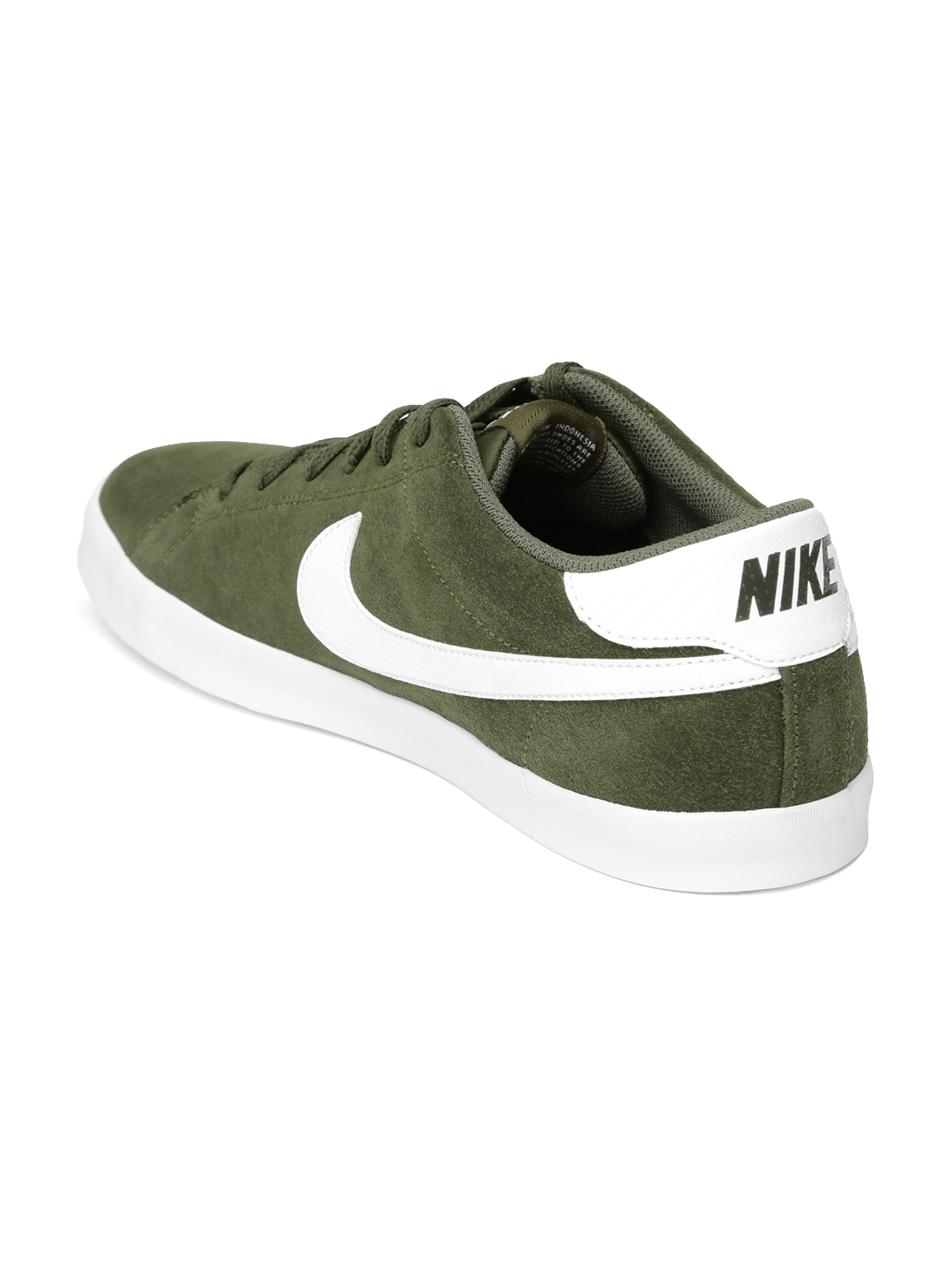 Buy Nike Men Olive Green Eastham Suede Sneakers - Casual Shoes for ... 19533b8eb