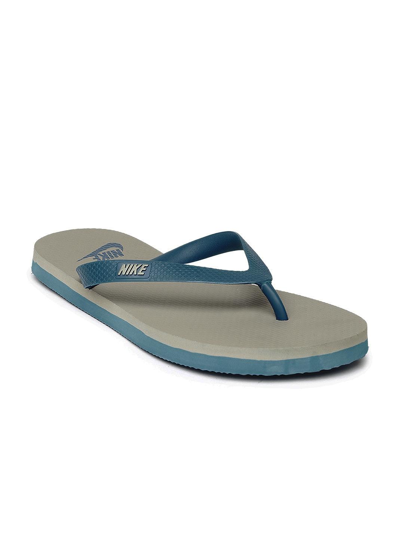 da478cd769a4 Buy Nike Men Blue   Grey Aquaswift Thong Flip Flops - Flip Flops for ...