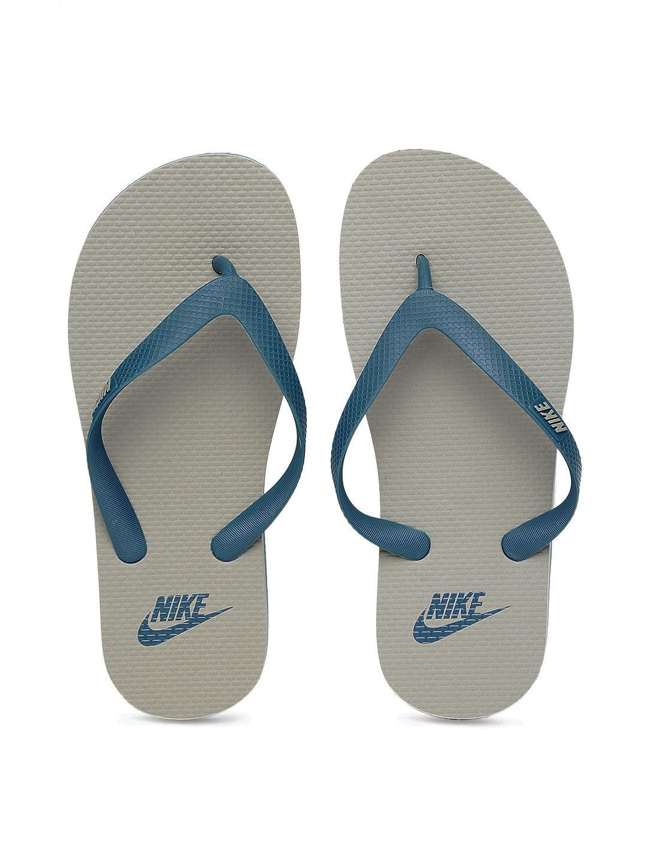14626668d6b Buy Nike Men Blue   Grey Aquaswift Thong Flip Flops - Flip Flops for ...