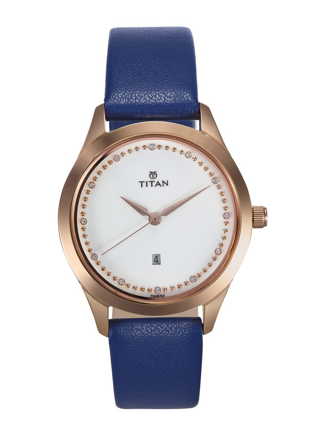 Titan Women White Analogue Watch