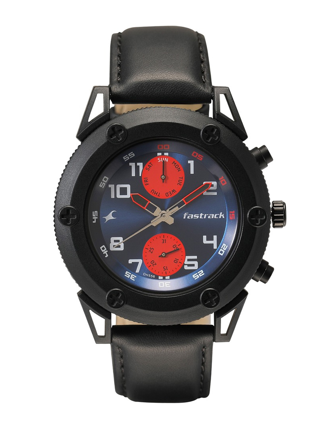 Fastrack Men Blue Analogue Watch