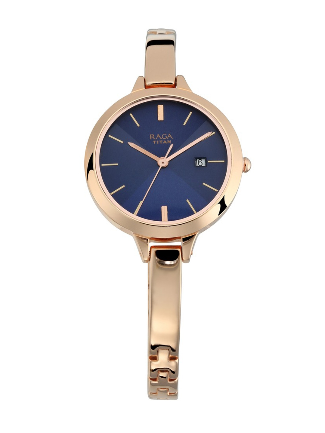 Titan Women Blue Analogue Watch