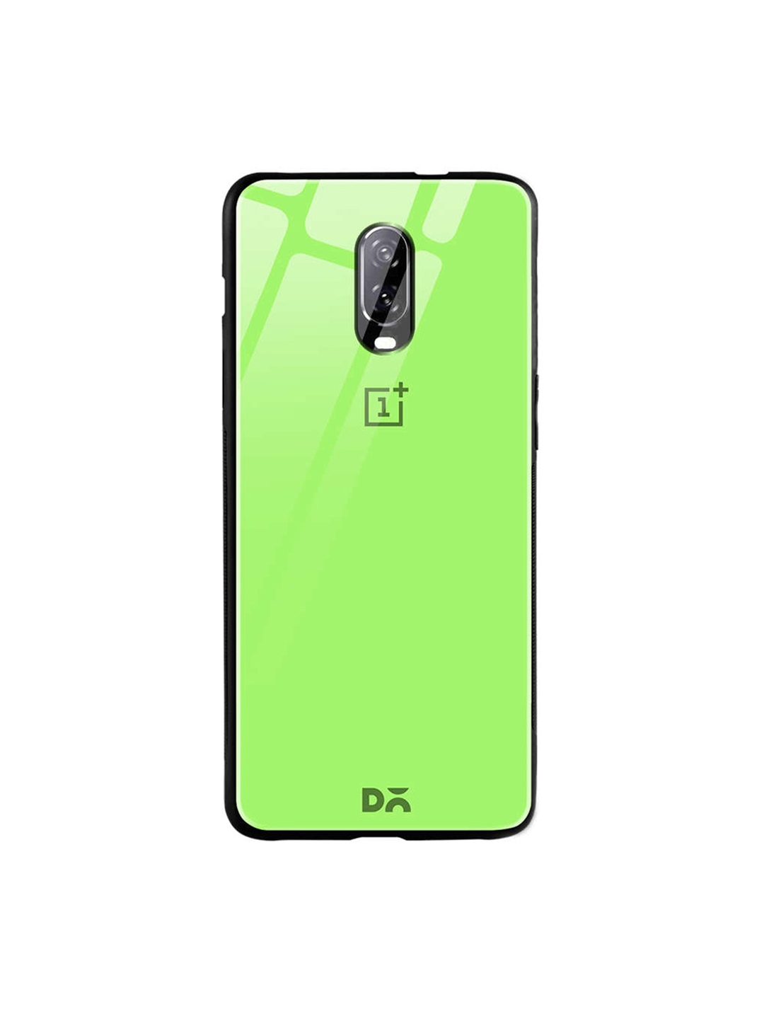 DailyObjects Green One Plus 6T Glass Case Cover