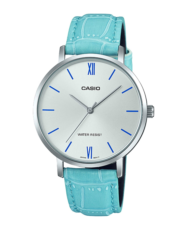 CASIO Enticer Women Silver Dial Analog Watch LTP VT01L 7B3UDF   A1631