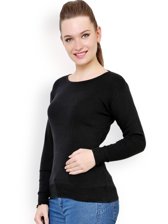 da41407be1 Buy Renka Black Sweater - Sweaters for Women 1024490