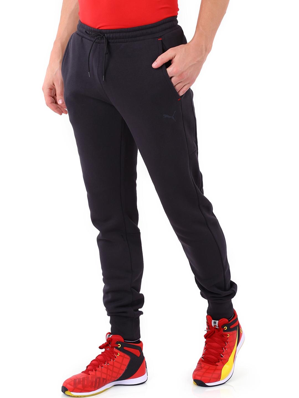 6797bd437be2 Buy Puma Black Ferrari Jogger Trackpants - Track Pants for Men ...