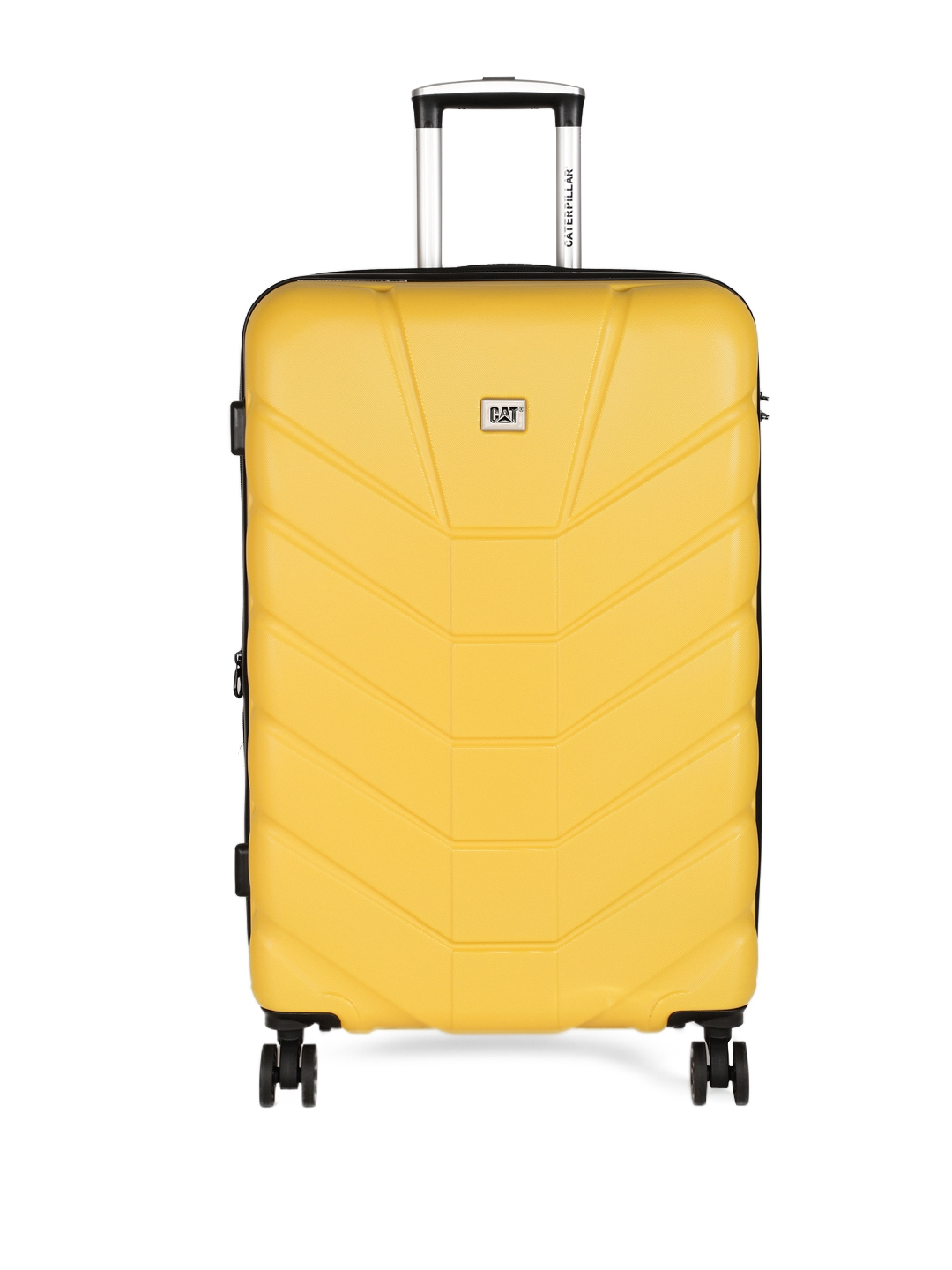 CAT Yellow Armis 20  Cabin Trolley Suitcase