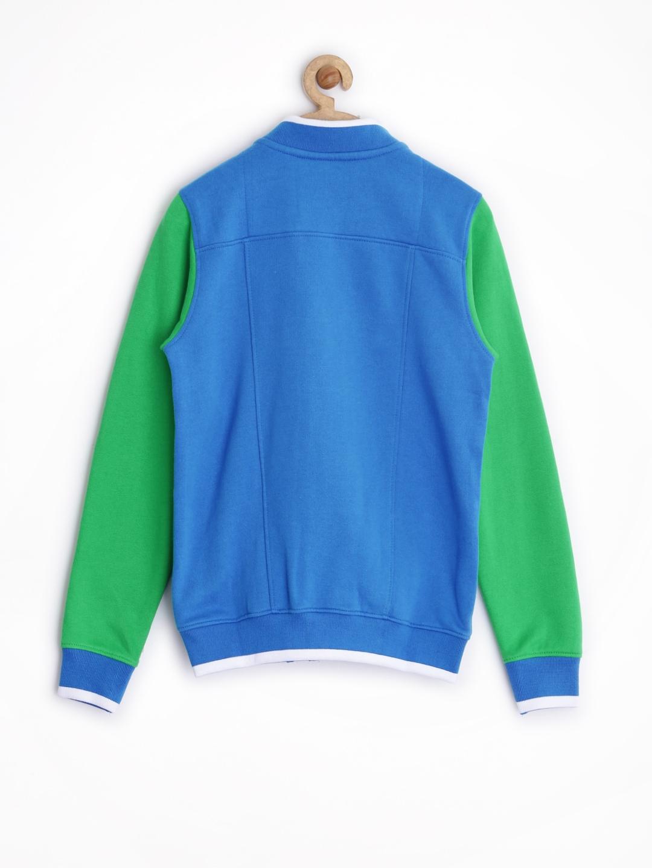 82abcf504 Buy Allen Solly Junior Boys Blue Jacket - Jackets for Boys 1032835 ...