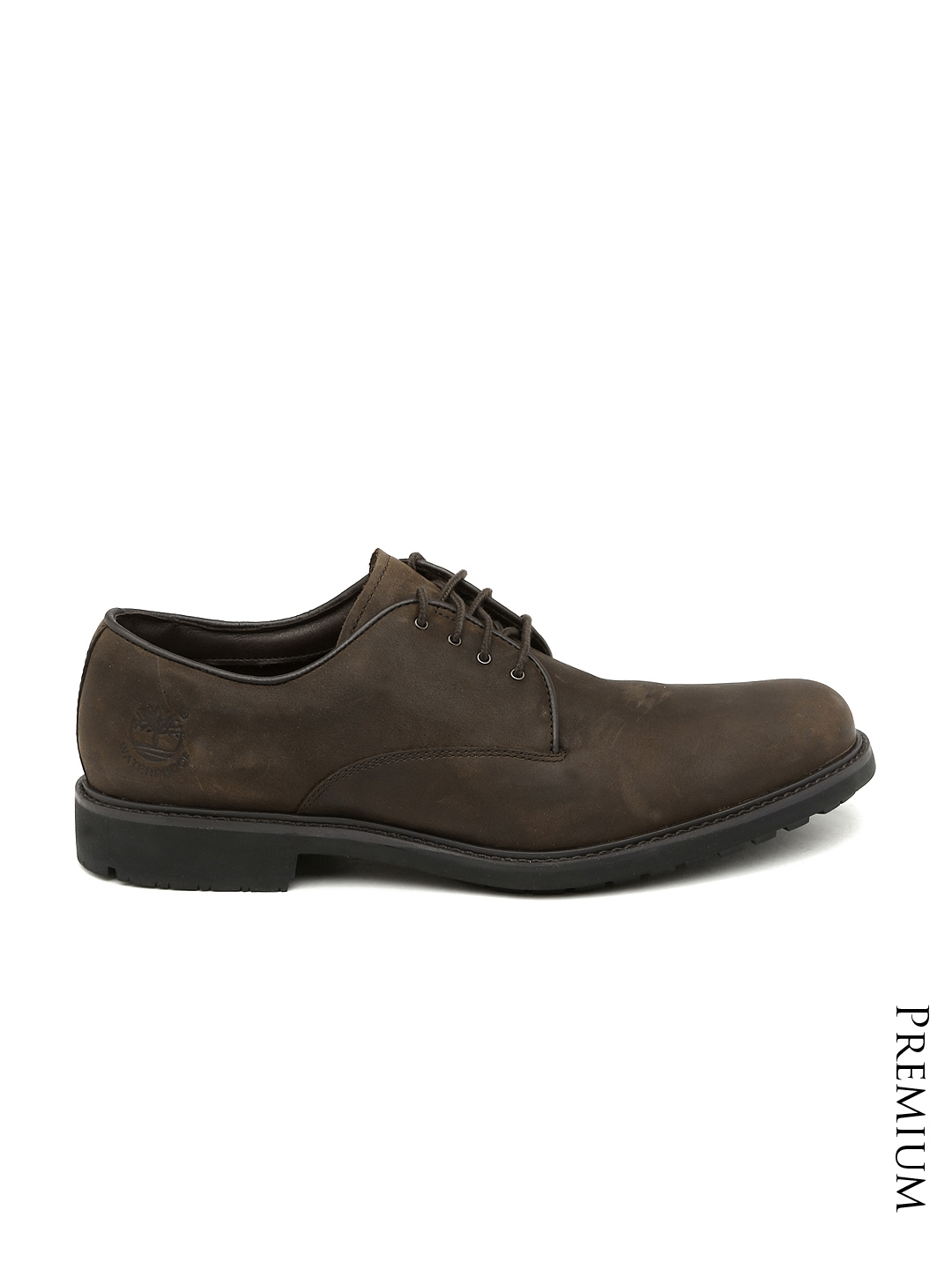 626e628d298 Buy Timberland Men Brown Leather Derby Shoes - Casual Shoes for Men ...