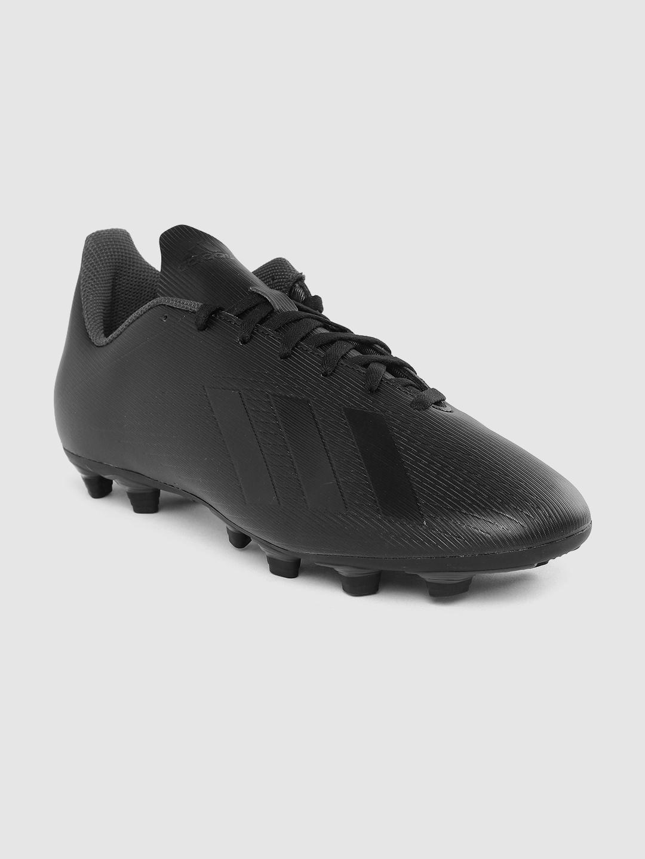 ADIDAS Men Black X 19.4 Flexible Ground Cleats Football Shoes