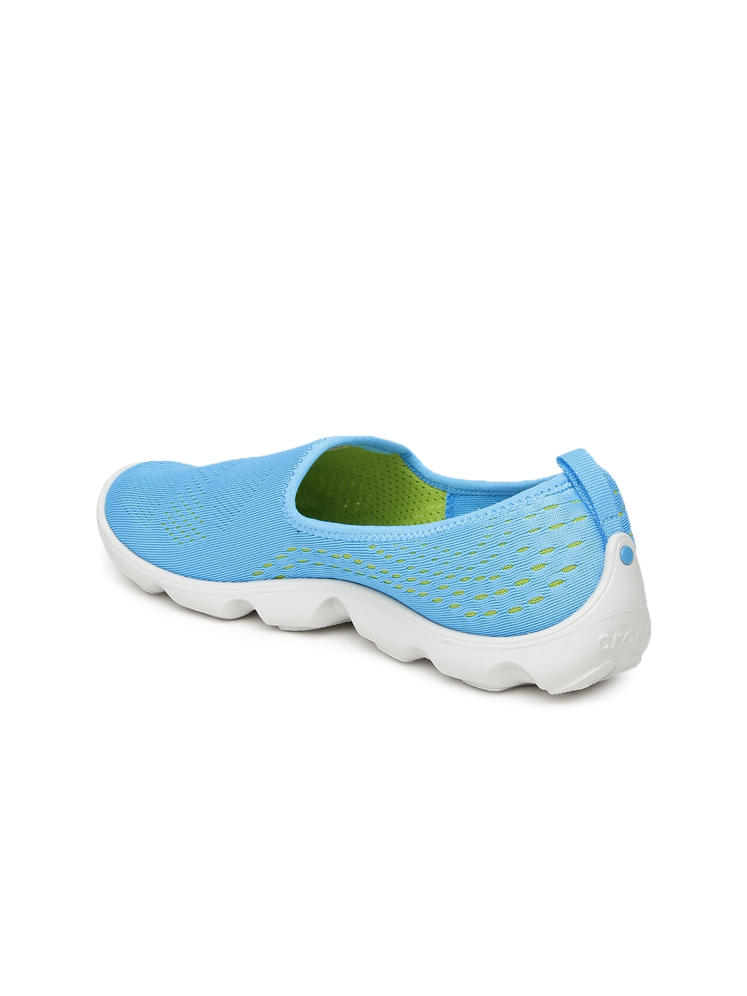b483a8429b5d0a Buy Crocs Women Blue Slip On Sneakers - Casual Shoes for Women ...