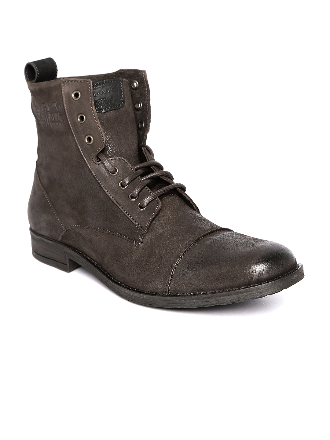 996fa8c41d943 Buy Levis Men Coffee Brown Leather Boots - Casual Shoes for Men ...