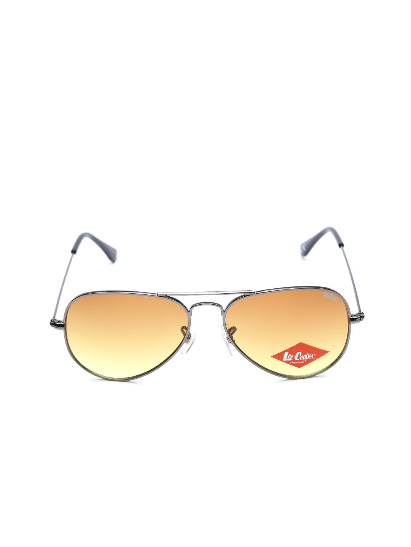 82107c9c59 Buy Lee Cooper Unisex Aviator Sunglasses LC9078 AMBER - Sunglasses ...