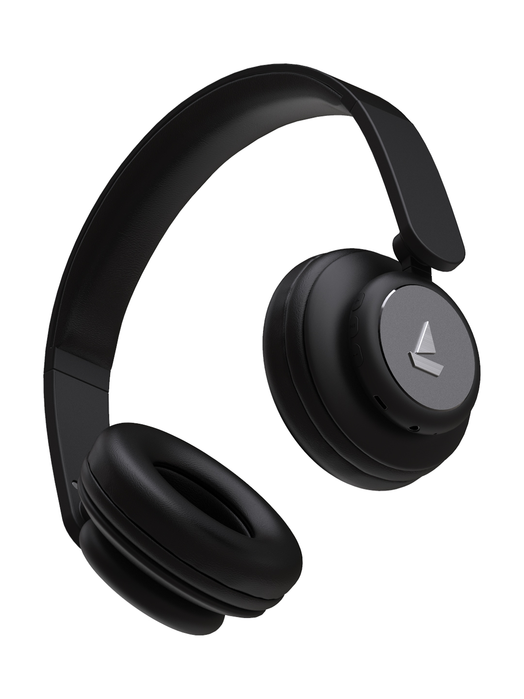 boAt Rockerz 450 M Lucious Black Wireless Headphone with Immersive Audio   15H Playtime